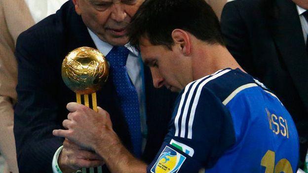 Lionel Messi: Blatter criticó el Balón de Oro del argentino en el Mundial #Depor