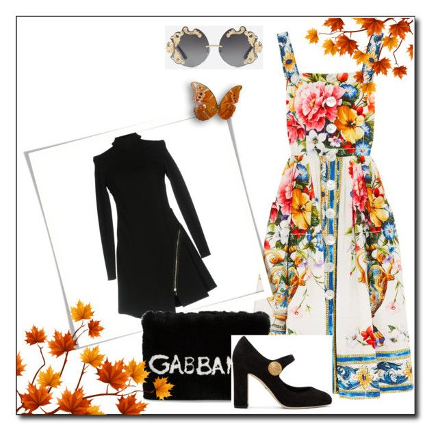 """fall outfit"" by dragut-dora-silvana on Polyvore featuring Dolce&Gabbana and Versace"