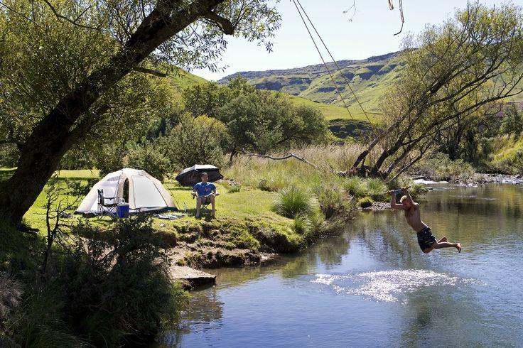 go! 10 cool campsites in the Drakensberg