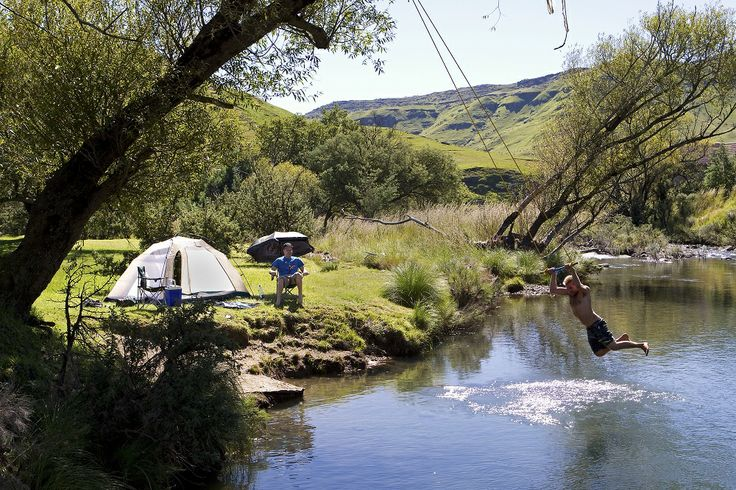go! 10 cool campsites in the Drakensberg