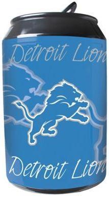 NFL Detroit Lions 11-Liter Portable Party Can Fridge