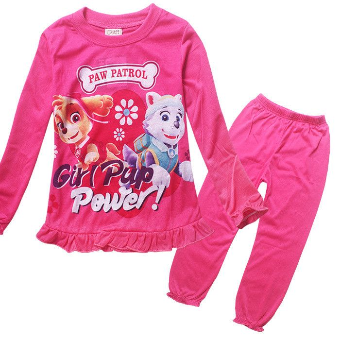 Paw Patrol Pajamas - Girls