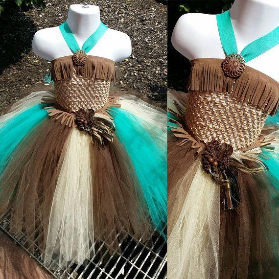Pocahontas Tutu Dress by TuTuCutee on Etsy