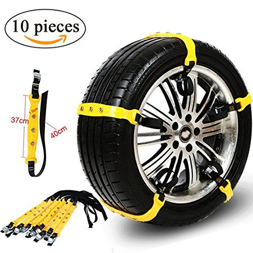 Anti Slip Tire Snow Chains Adjustable Tyre Emergency Safety Chains Portable Winter Anti-skid Chains Fit for Width185mm-225mm Most Car SUV Trucks 10Pcs/Pack. For product info go to:  https://www.caraccessoriesonlinemarket.com/anti-slip-tire-snow-chains-adjustable-tyre-emergency-safety-chains-portable-winter-anti-skid-chains-fit-for-width185mm-225mm-most-car-suv-trucks-10pcs-pack/