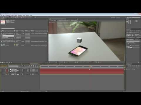 After Effects Tutorial - Corner pinning with Mocha for CS5