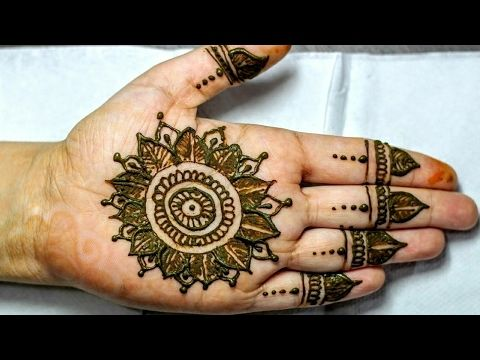 Simple and Easy  Mehandi  Henna Designs - YouTube