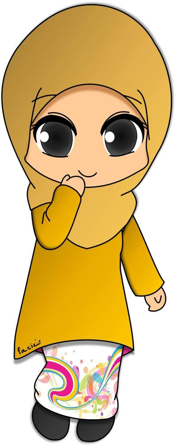 17 Best Images About Hijabs On Pinterest Chibi Cartoon And Drawings