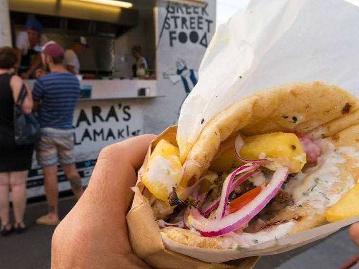 Diners have more than souvalki to choose from at Greek Street Food truck. Image by John Carney / Flickr; FOOD TRUCKS! in melbourne!