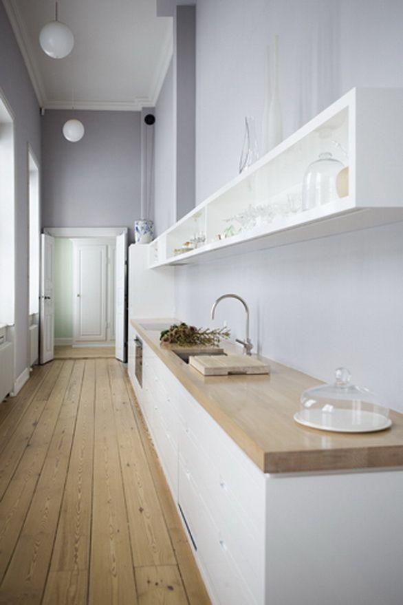 Décoration d'intérieur - salle de bains et #parquet = mariage réusssi