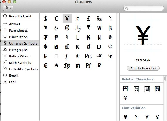 How to Type Euro Sign (€) and Other Currency Symbols in #Mac