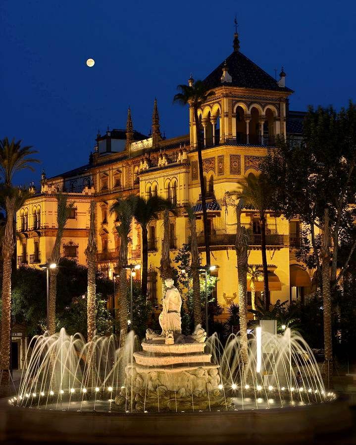 11 best hotel alfonso xiii sevilla images on pinterest for Hotel design seville