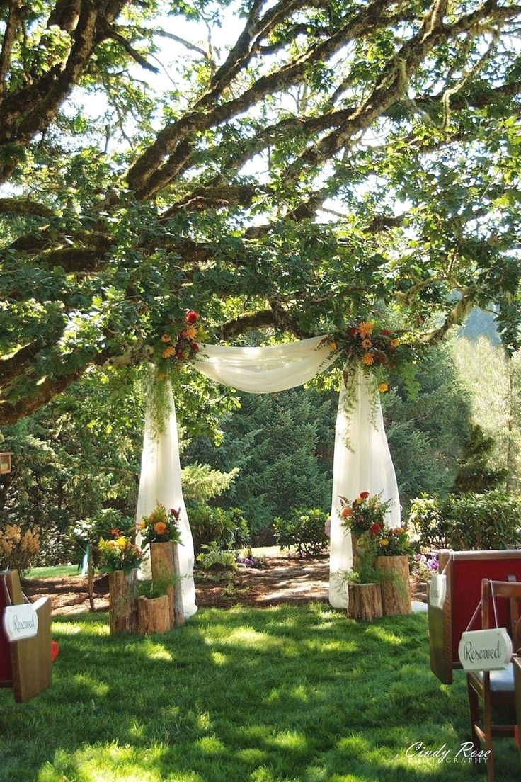 50 Stunning Backyard Marriage Decoration SUGGESTIONS TO Get A Passionate Impact