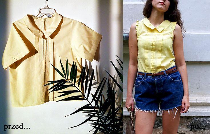 Cześć kochani 🙂 pamiętacie żółtą bluzkę, którą jakiś czas temu pokazałam Wam na Instagramie? Obiecywałam Wam wtedy, że niedługo dodam wpis, w którym pokażę jak ją przerobiłam… i oto nadszedł ten moment 🙂 Pierwotnie bluzka miała rozmiar 40 i krótkie rękawy. Aktualnie jej rozmiar to 36, a krój rękawów zmieniłam na urocze falbanki. Mam nadzieję … Czytaj więcej