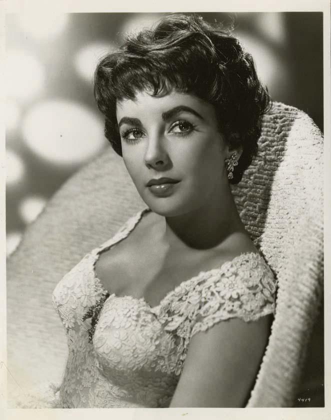 Elizabeth Taylor Old Hollywood Glamour