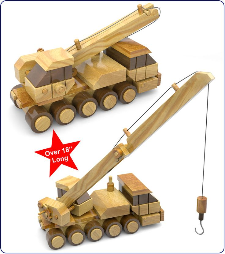 Construction plans for wooden toys woodworking projects for Toy plans