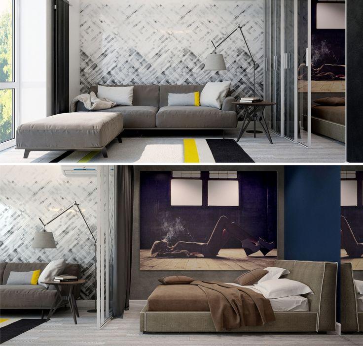 "Wallpaper ""Dream Weaver"" by Rebel Walls. Styled by Pavel Alekseev."
