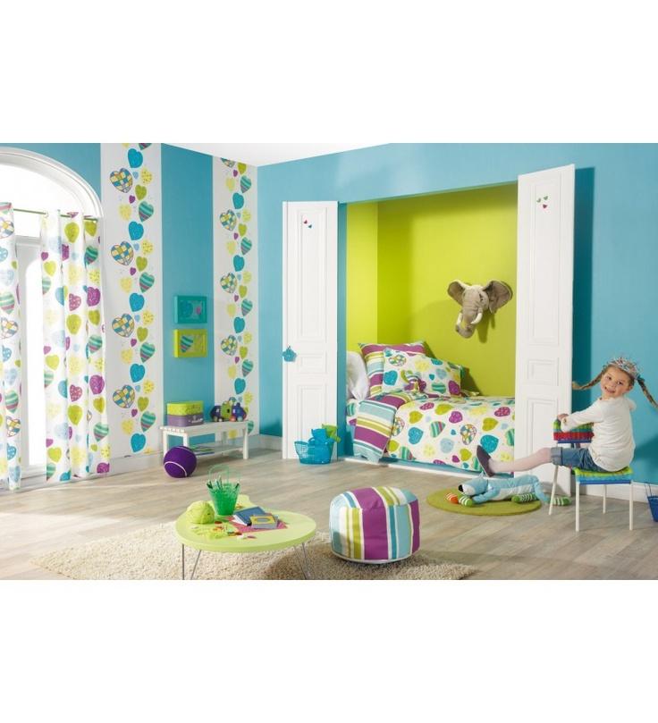 Papel pintado caselio miss zoe 57925031 papeles para - Papel para decorar paredes ...