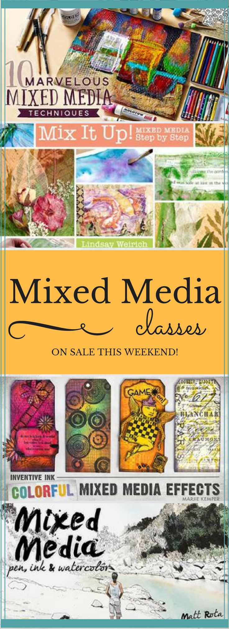 22 best online card making classes images on pinterest cardmaking every mixed media class is on sale at craftsy this weekend check out a wide kristyandbryce Choice Image