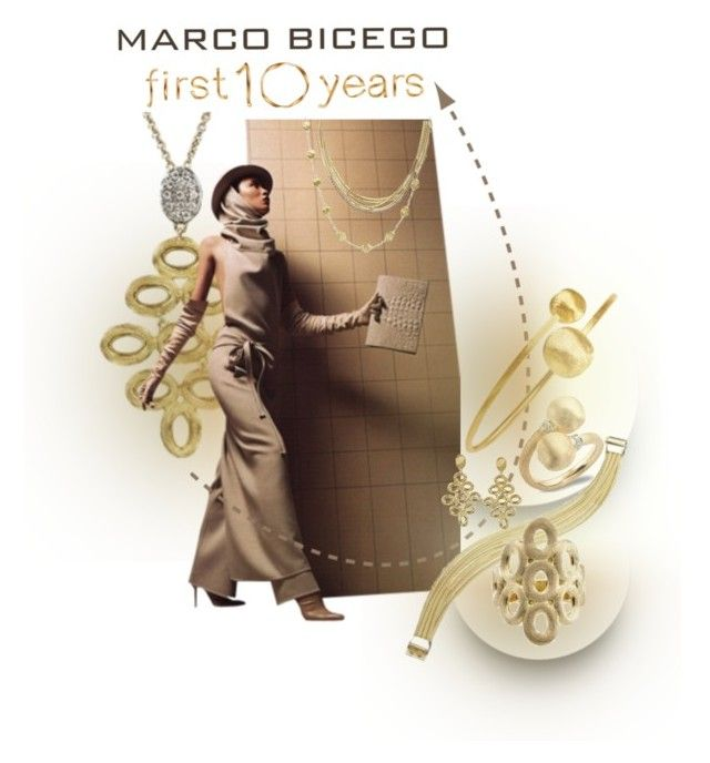 Marco Bicego Jewelry: Where Nature & Art Merge by betiboop8 on Polyvore featuring Marco Bicego, MarcoBicego, designerjewelry and finejewelry