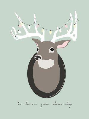 Anna Göran Design - I love you deerly - lights