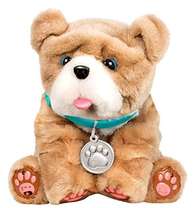 Caedon Little Live Pets My Kissing Puppy Rollie Little Live Pets Dog Toys Pet Toys
