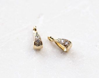 2272_4_Pendant 3.5x10 mm,Gold plated pendant,Crystal (CZ) pendant,Metal pendant,Zirconia pendant,Glossy golden findings,Pendant with crystal - Edit Listing - Etsy