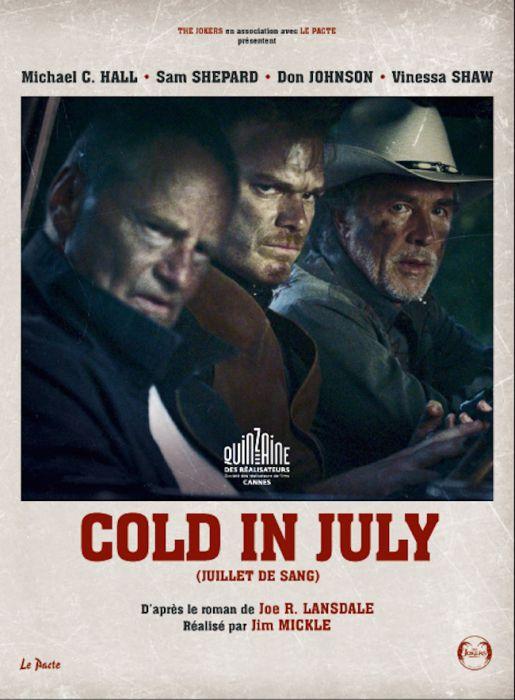 """Avec Cold in July, Jim Mickle franchit un palier et invite un joli casting composé de Michael """"Dexter"""" C. Hall, Sam Shepard, Vinessa Shaw et Don Johnson."""