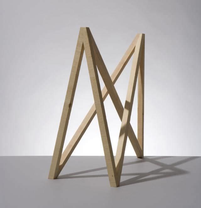 Pied de table en bois 1 X 1 studiomama