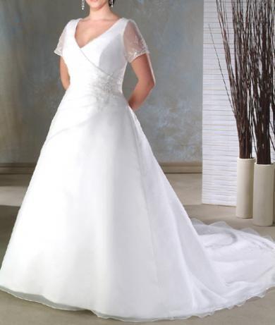 Svadobné šaty XXL009