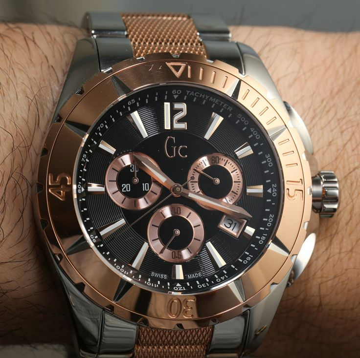 17 best images about guess nice watches two tones guess gc sport class xxl watch review