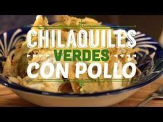 ¿Cómo preparar Chilaquiles Verdes con Pollo? - Cocina Fresca - YouTube - #CocinaFresca es presentado por Walmart