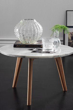 Ellos Home Sofabord i fargene Grå innen Hjem - Sofabord - Ellos #marble #marmor