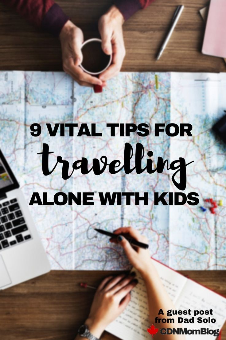 9 Vital Tips for Travelling Alone with Kids - A guest post from Dad Solo