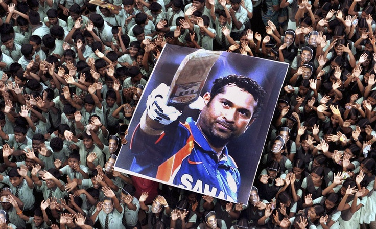 Sachin.. the God of cricket