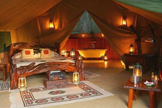Governors' Il Moran Camp - Masai Mara Reserve, Kenya - 5 Star ...