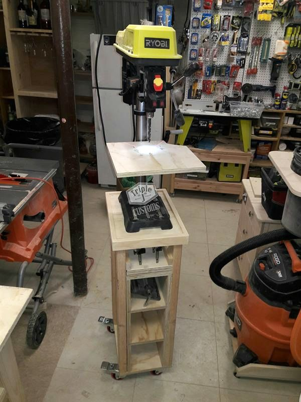 Best 25 Drill Press Stand Ideas On Pinterest