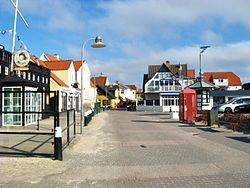 Loekken, Denmark is located in Northern Jutland, was originally an old fishing village but is now a bustling tourist and resort town.