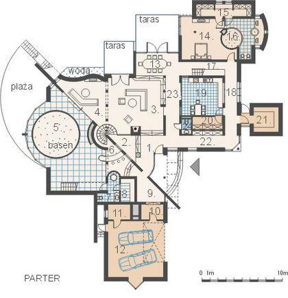 DOM.PL™ - Projekt domu AM AMBASADOR CE - DOM AM1-63 - gotowy projekt domu