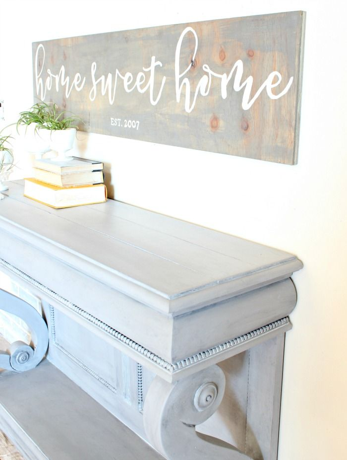 How to add faux shiplap to the top of furniture and how to Blend Two Furniture Waxes for a Textured Finish | Furniture Painting Tips and Painted Furniture Ideas by Refunk My Junk