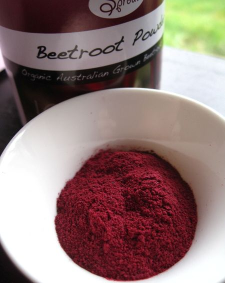 beetroot-powder and other natural colouring agents