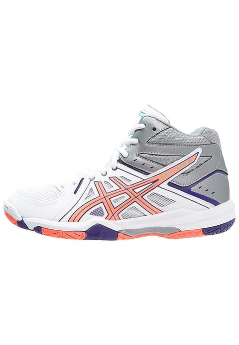ASICS GEL-TASK MT - Scarpe da pallavolo - white/flash coral/parachute purple - Zalando.it