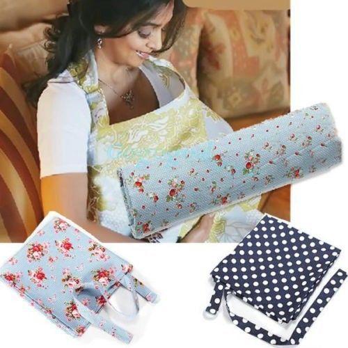 Baby-Mum-Breastfeeding-Nursing-Poncho-Cover-Up-Udder-Covers-Cotton-Blanket-Shawl
