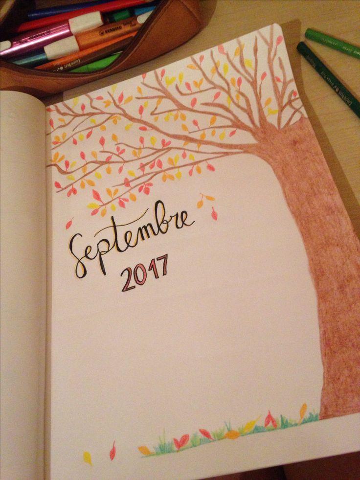 #septembre #bulletjournal #bujo #unpeudavance