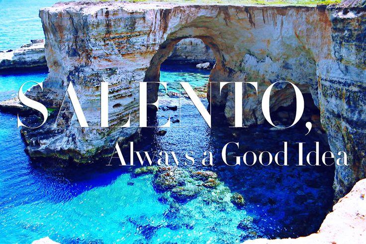 C'è chi torna e c'è chi parte adesso per le vacanze. Scopriamo le meraviglie del #Salento. READ http://bit.ly/1p5aoiM