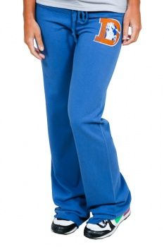 Retro Sport Denver Broncos Women's Pant $19.99 (XS and Large only).        •    Retro Sport logo patch on back        •    Made in the USA        •    Officially licensed Denver Broncos Merchandise by the NFL        •    58% off its original price!!
