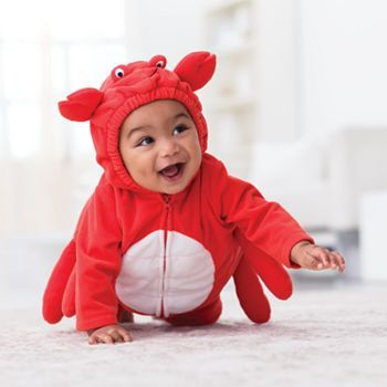 Carter's Crab Hooded Costume - Baby #Kohls #Halloween
