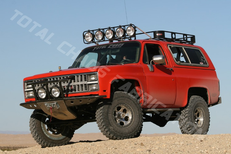 K5 Blazer Expedition Rig Off Road Vehicles