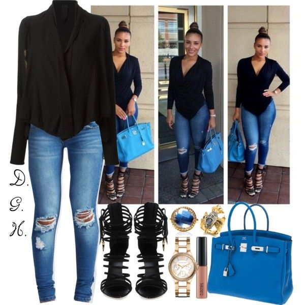 A fashion look from October 2014 featuring Rundholz cardigans, Boohoo jeans and Giuseppe Zanotti sandals. Browse and shop related looks.