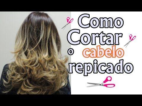 Corte de cabelo em camada - Faça em casa sozinha / Layered - Make it home alone - YouTube