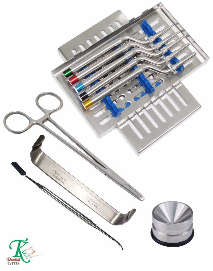 Professional Dental Implant Kit Periosteal Elevators Osteotomes Farabeuf Amalgam #tkplus
